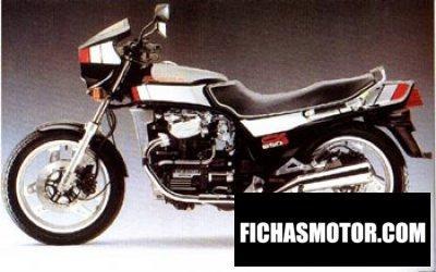 Imagen moto Honda cx 650 e año 1985