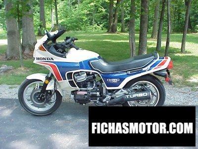 Ficha técnica Honda cx 650 turbo 1983