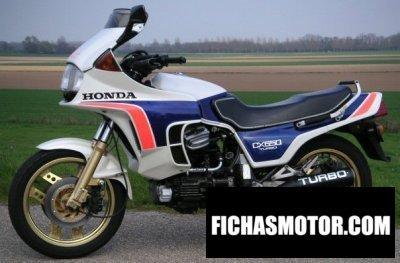 Ficha técnica Honda cx 650 turbo 1984