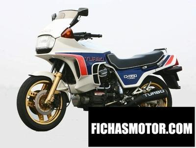 Ficha técnica Honda cx 650 turbo 1985