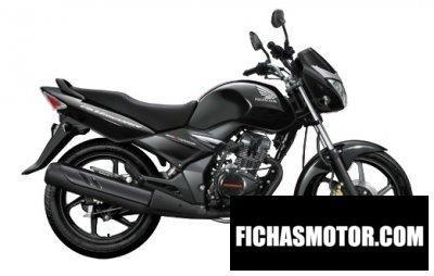 Imagen moto Honda dazzler año 2014