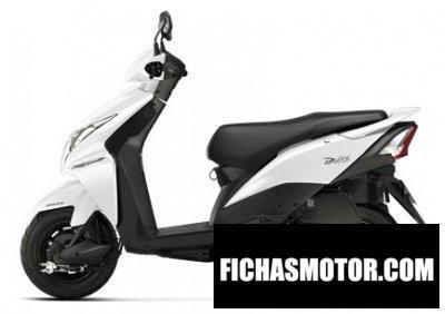 Ficha técnica Honda dio 110 2013