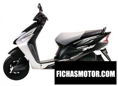 Ficha técnica Honda dio 2011