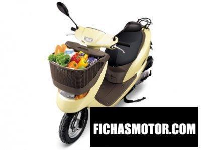Imagen moto Honda dio cesta año 2006