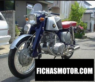 Ficha técnica Honda dream sport ce71 1962