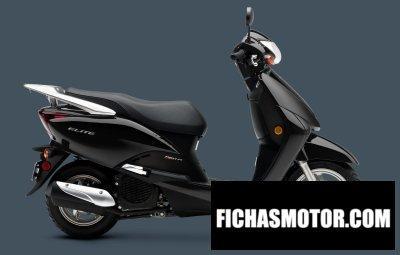 Imagen moto Honda elite año 2011