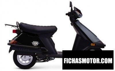 Imagen moto Honda elite 80 año 2004