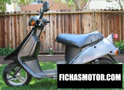 Ficha técnica Honda elite sa 50 1988