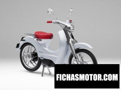 Ficha técnica Honda ev-cub concept 2016