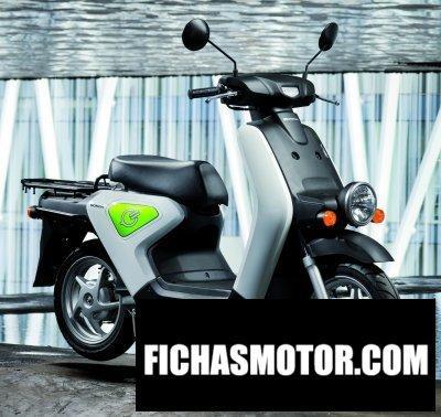 Imagen moto Honda ev neo año 2012