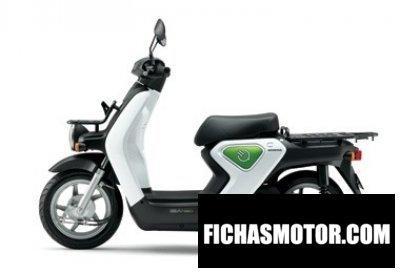 Ficha técnica Honda ev-neo pro 2013