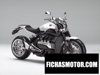 Imagen moto Honda evo 6 año 2014