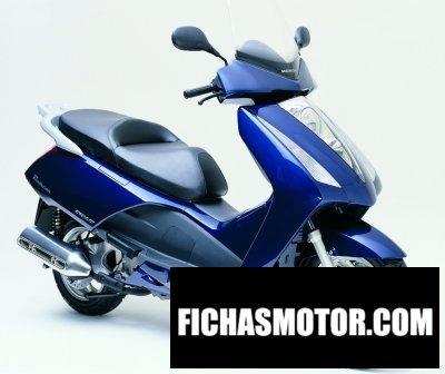 Imagen moto Honda fes 125 pantheon año 2007