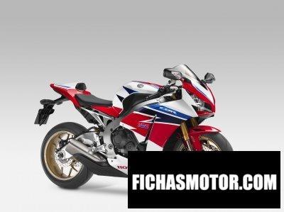 Ficha técnica Honda fireblade sp 2014