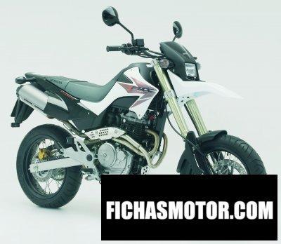 Imagen moto Honda fmx 650 año 2006