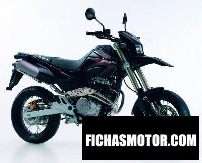 Ficha técnica Honda fmx 650 2007