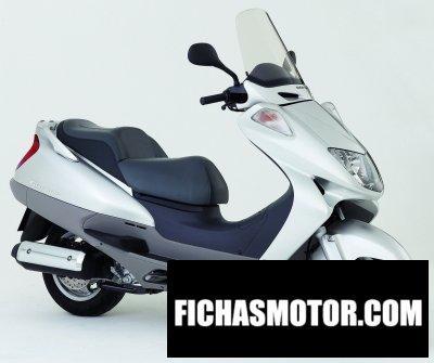 Imagen moto Honda foresight año 2006