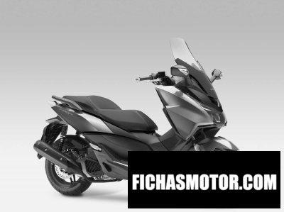 Ficha técnica Honda forza 125 2016