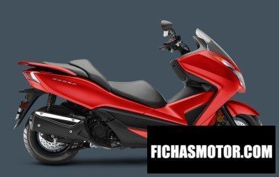 Ficha técnica Honda forza 2018