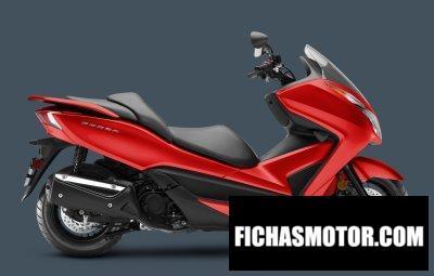 Imagen moto Honda Forza año 2019