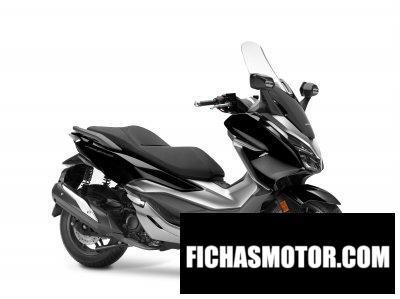Imagen moto Honda Forza 300 año 2020