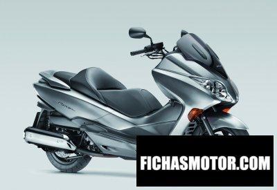 Imagen moto Honda forza ex año 2011