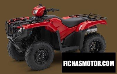 Imagen moto Honda fourtrax foreman 4x4 año 2017