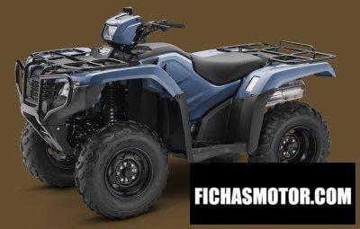 Imagen moto Honda fourtrax foreman 4x4 año 2018