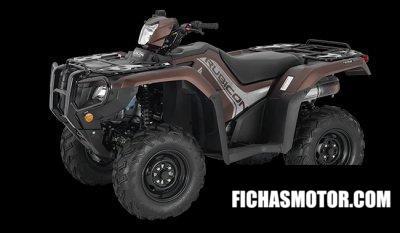 Ficha técnica Honda FourTrax Foreman Rubicon 4x4 2020