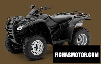Ficha técnica Honda fourtrax rancher 2009