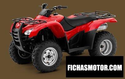 Imagen moto Honda fourtrax rancher año 2010