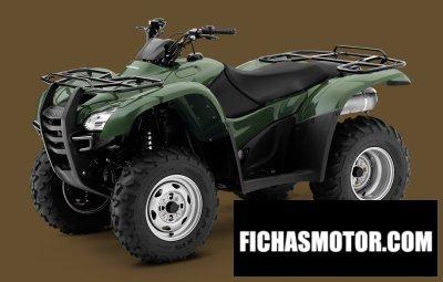 Imagen moto Honda fourtrax rancher año 2011