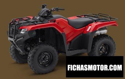 Imagen moto Honda fourtrax rancher año 2018