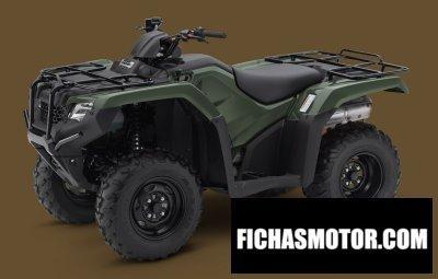 Imagen moto Honda fourtrax rancher 4x4 año 2015