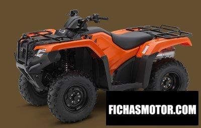 Ficha técnica Honda fourtrax rancher 4x4 automatic dct eps 2014