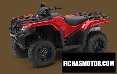 Ficha técnica Honda fourtrax rancher 4x4 eps 2014