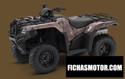 Ficha técnica Honda fourtrax rancher 4x4 es 2014