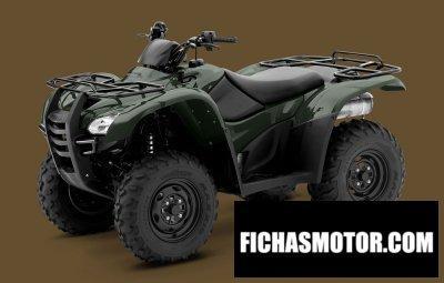 Imagen moto Honda fourtrax rancher at año 2013