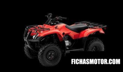 Ficha técnica Honda FourTrax Recon 2020