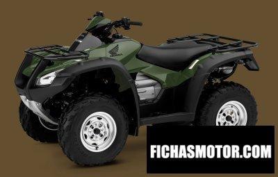 Imagen moto Honda fourtrax rincon año 2010