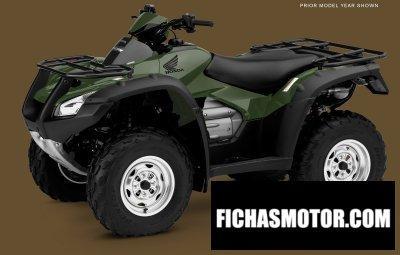 Imagen moto Honda fourtrax rincon año 2016
