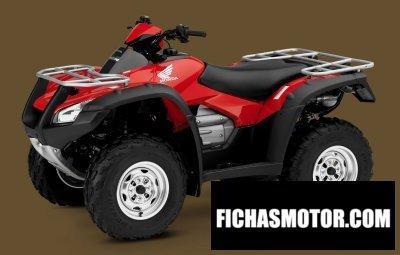 Imagen moto Honda fourtrax rincon gpscape año 2009