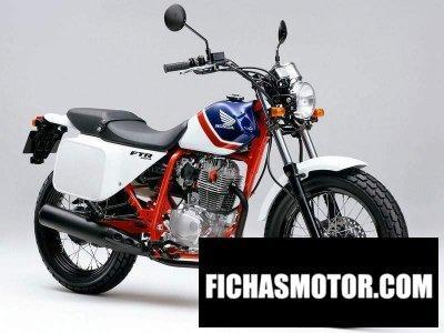 Imagen moto Honda ftr año 2002