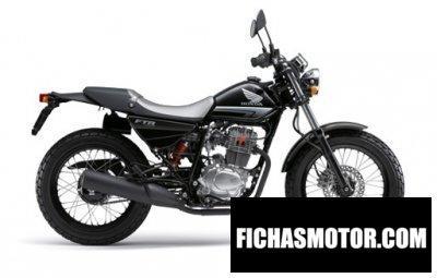 Imagen moto Honda ftr año 2013