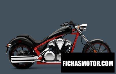 Imagen moto Honda fury año 2012