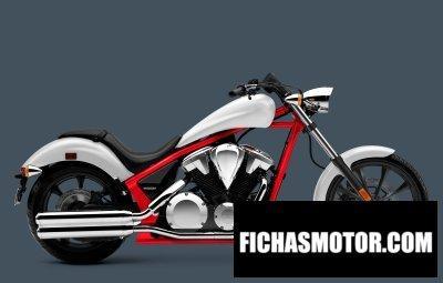 Ficha técnica Honda fury 2014