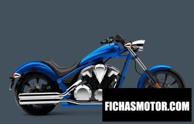 Imagen moto Honda fury año 2016