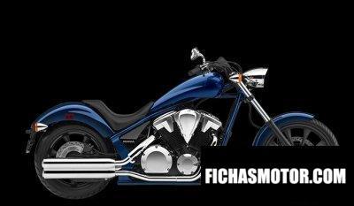 Imagen moto Honda Fury año 2020