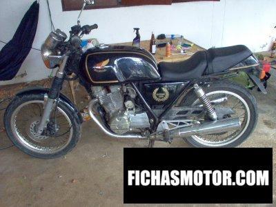 Ficha técnica Honda gb 250 clubman 1985