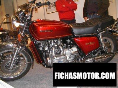 Imagen moto Honda gl 1000 gold wing año 1975